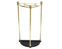 モダンスタイルのゴールドフレームの傘立