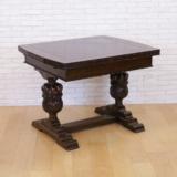 イギリスアンティークのドローリーフテーブル