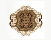 オーガンジーとベルベット素材のテーブルマット