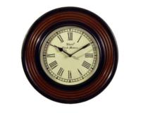 インド製の赤いフレームの時計