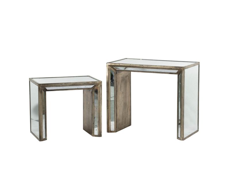 ミラーネストテーブル