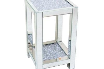 おしゃれな飾り台 ミラー家具 モダン 小さいサイズ (置き台 花台)