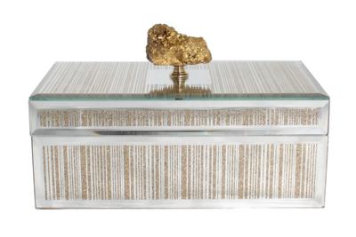 華やかでおしゃれなグラムスタイルインテリアに!ラグジュアリーなミラーボックスの小物入れ /ジュエリーボックス 宝石箱