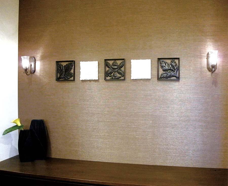 アジアンテイストの病院待合室