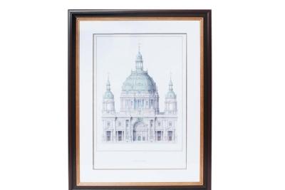 部屋に飾るおしゃれな絵 / 大聖堂 センスのいいアート額